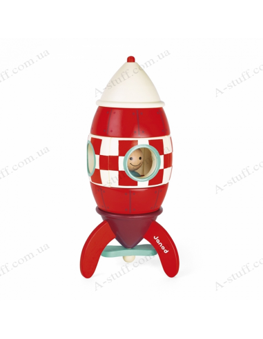 Constructor magnetic Janod Rocket 32 cm