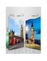 """Double-sided folding screen """"London"""""""