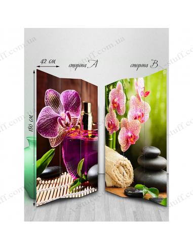 "Ширма двухсторонняя ""Orchid 3"""