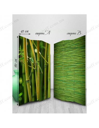 "Ширма двостороння ""Bamboo"""