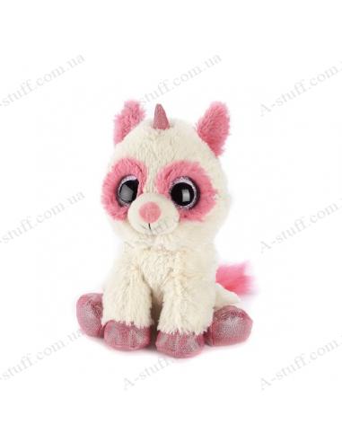 "Грелка игрушка ""Крошка Единорог"" бело-розовый"