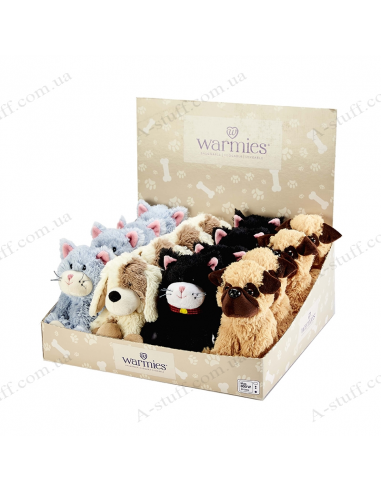"A set of toys warmers ""Pets"" (4 pcs.)"