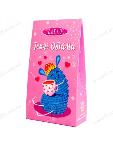 "Cocoa ""Warm Hugs"" in box"