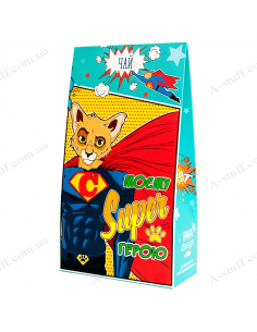 "Tea ""My Super Hero"" box"