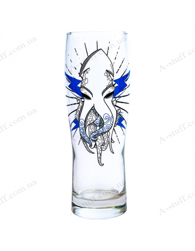 "Beer glass ""Squid"""
