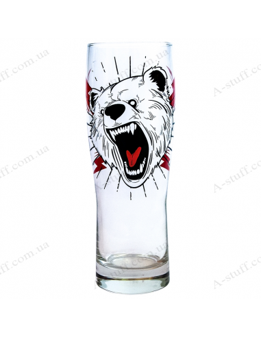 "Glass for beer ""Bear"""
