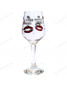 "Wine glass ""My 50 shades of red"""
