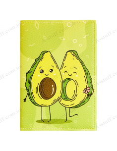 "Passport cover ""Avocado"""