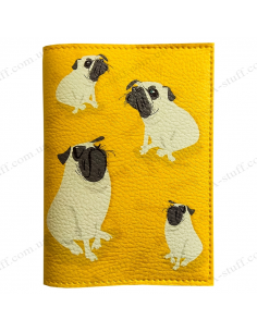 "Passport cover ""Pug"""
