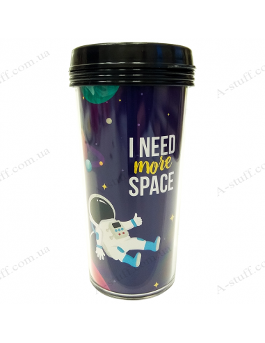 """Thermo cup """"I need more space"""""""