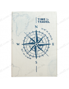 "Passport cover ""Compass"""