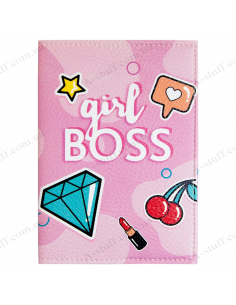 "Passport cover ""Girl BOSS"""