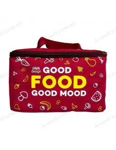 """Thermobag for lunch """"Burgundy"""""""