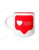 """Чашка """"100 К"""""""
