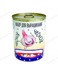 """Растение в консервной банке """"Чеснок"""""""