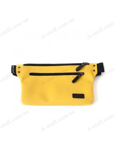 Бананка (поясная сумка) спорт желтая