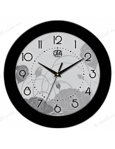 """Wall clock """"Flower Abstraction"""""""