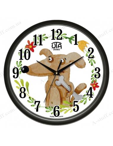 """Настенные часы """"Собака и кость"""""""