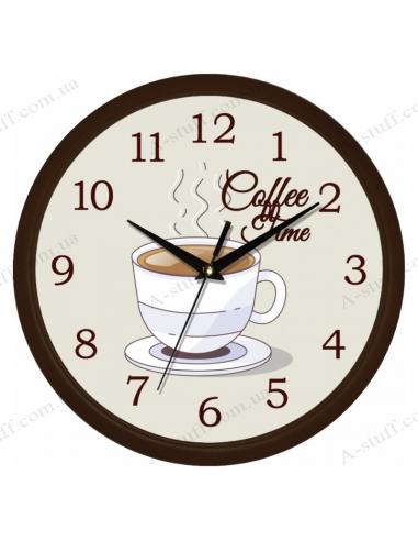 """Настенные часы """"Coffee time"""""""