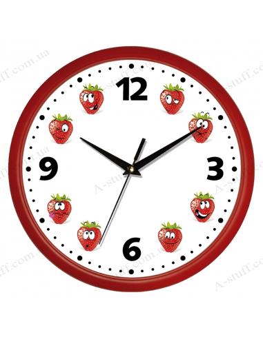 "Wall clock ""Strawberry"""