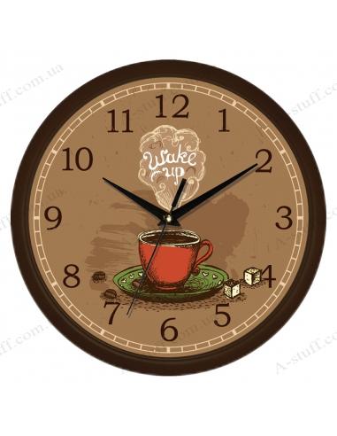 """Настенные часы """"Wake up"""""""