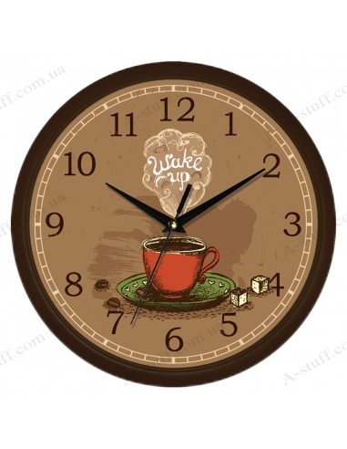 """Настінний годинник """"Wake up"""""""