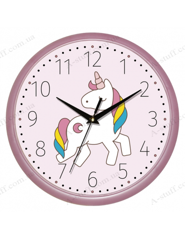 """Настінний годинник """"Єдиноріг"""""""