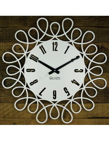 Металевий настінний годинник Romantic