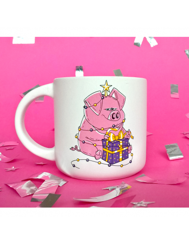 """Cup """"New Year's Piggy"""""""