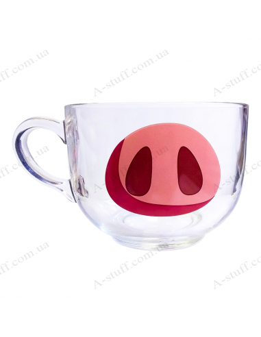"Cup 700 ml ""Pig Face"""