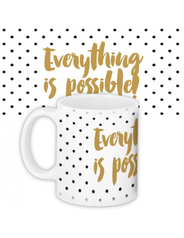 "Cup ""Everything is possible!"""