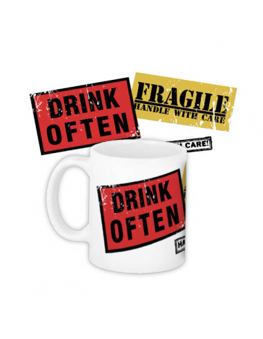 "Cup ""Drink often"""