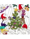 """Big coloring """"Christmas tree"""""""