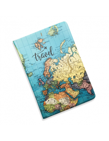 "Document Organizer 5 in 1 ""Travel Map"""