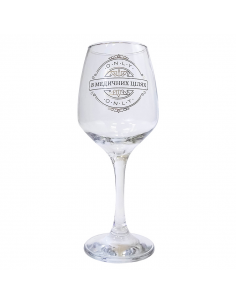 "Glass for wine ""For medical purposes"""