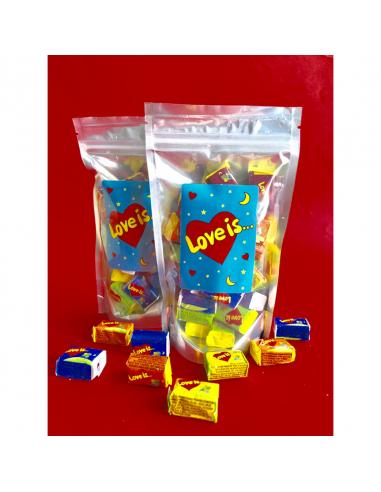 """Упаковка жвачки """"Love is"""""""