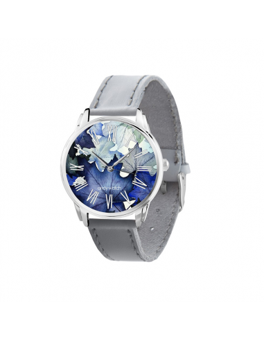 "Wristwatch ""Midnight Leaves"""