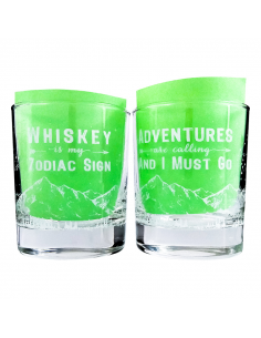 "A set of glasses for whiskey ""Whiskey Adventures"""