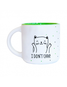 """Cup """"Oops i don't care"""""""