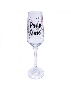 """Бокал для шампанского """"Party Time"""""""