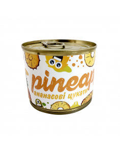 "Candied fruits in a can ""Pineapple"""