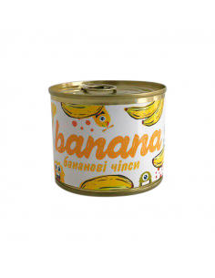 """Candied fruits in a can """"Banana"""""""