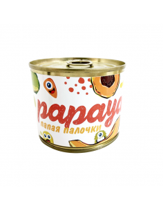 "Candied fruits in a can ""Papaya"""