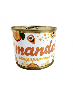"""Candied fruits in a can """"Mandarin"""""""