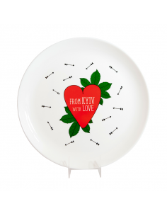 """Plate """"From Kyiv with Love"""""""