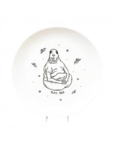 "Plate ""the Awaiter"""