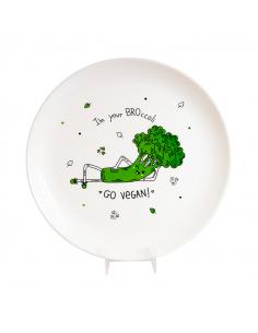 """Plate """"Broccoli"""""""