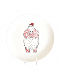 "Plate ""Hungry Bear"""