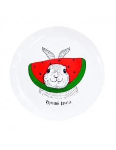 "Plate ""Rabbit"""