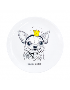 "Plate ""Chihuahua"""